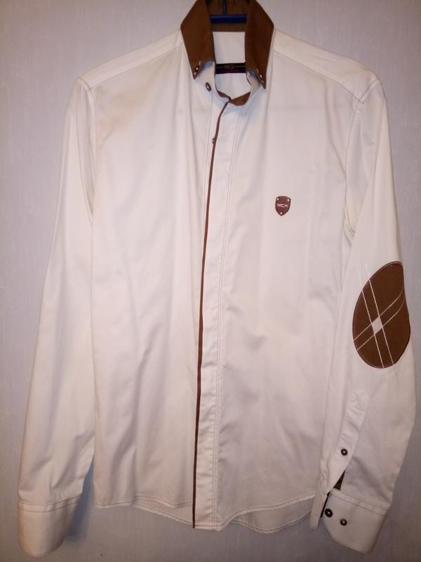Стильная нарядная рубашка р.s