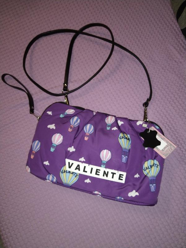 Летняя тканевая сумочка кроссбоди тм valiente --- новая