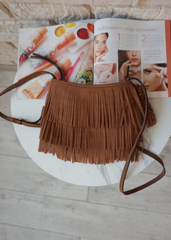 🔥🔥🔥небольшая коричневая женская сумочка - Фото 3