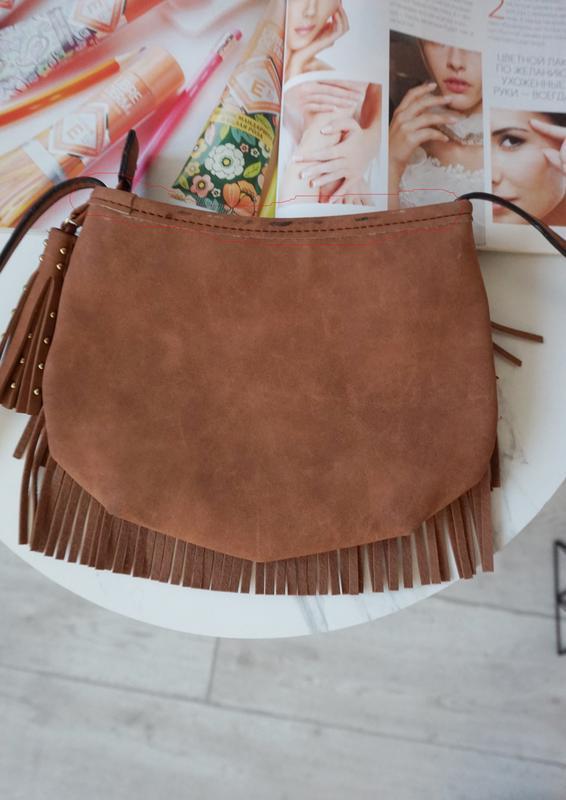🔥🔥🔥небольшая коричневая женская сумочка - Фото 5