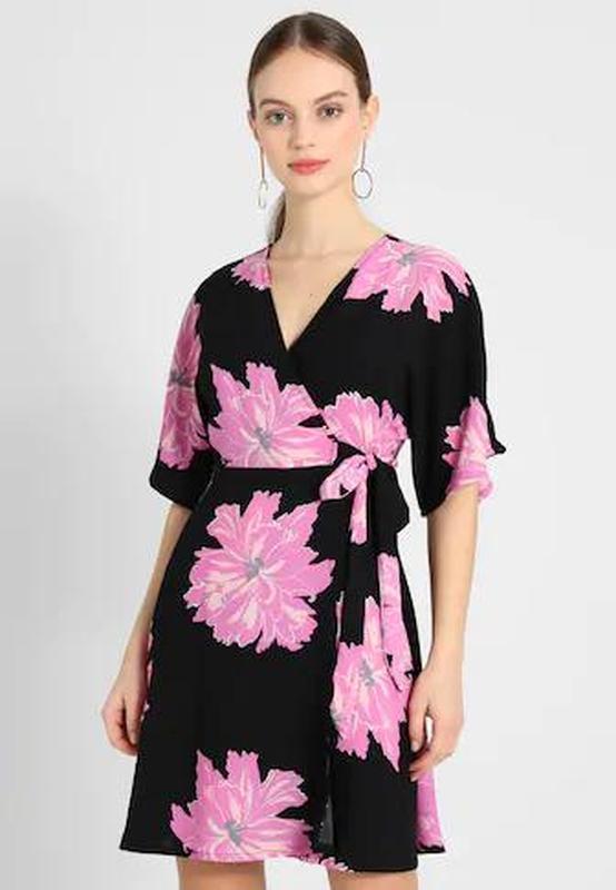 Платье на запах с запахом vero moda - Фото 2