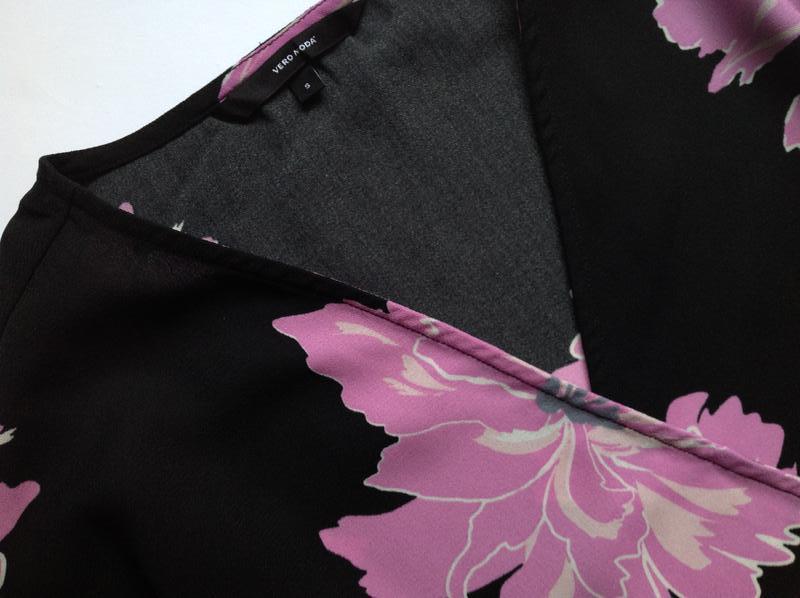 Платье на запах с запахом vero moda - Фото 5