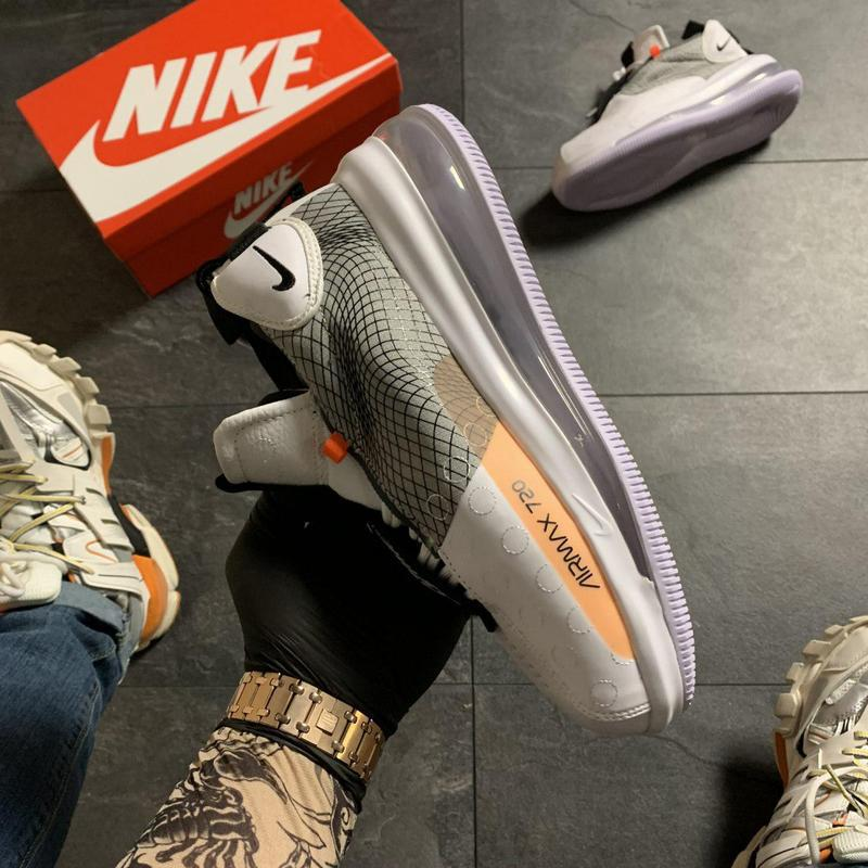 Nike air max 720 sneakerboots gray. - Фото 2