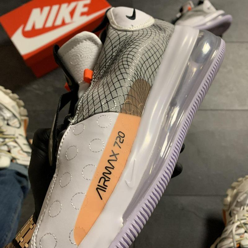 Nike air max 720 sneakerboots gray. - Фото 6