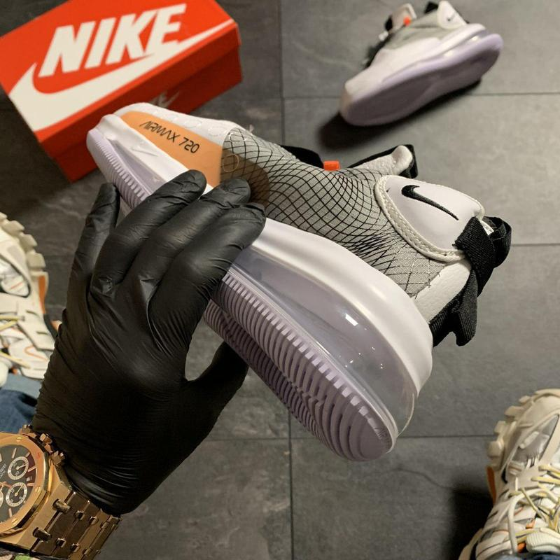Nike air max 720 sneakerboots gray. - Фото 7