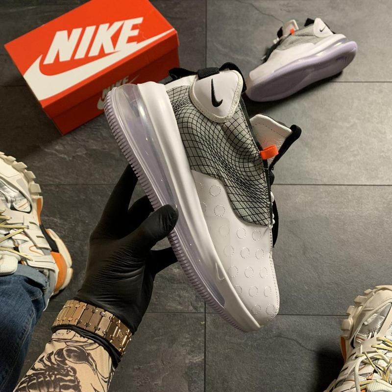 Nike air max 720 sneakerboots gray. - Фото 8