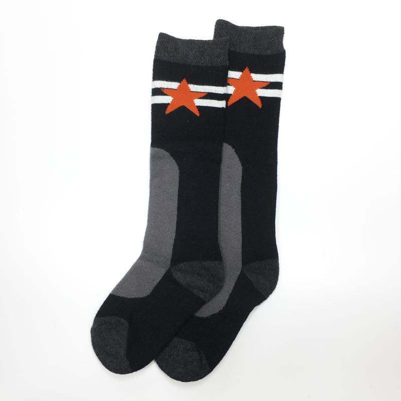 Махровые гольфы высокие носки лыжные детские для мальчика р.23-26