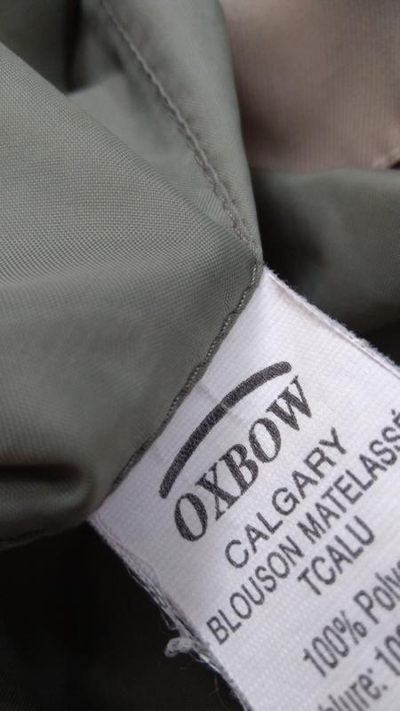 Мужская куртка oxbow большого размера размер 60-62 - Фото 7