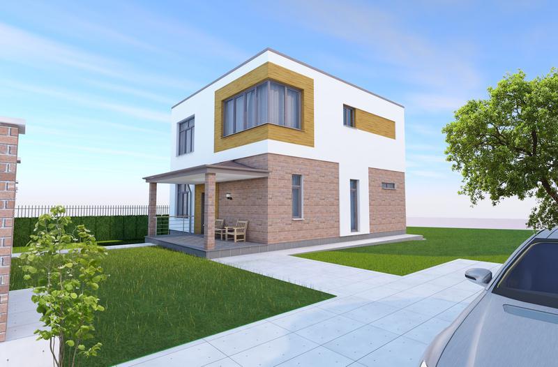 Проект дома ( стадия ЭП ) с 3d за 80 грн. м.кв. - Фото 3