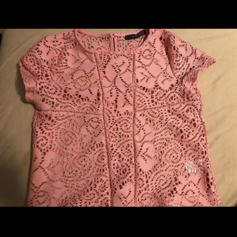 Кружевная красивая блуза