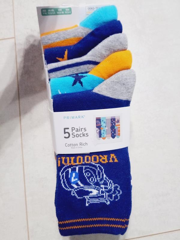 Комплект носочков на мальчика, 5 пар упаковка