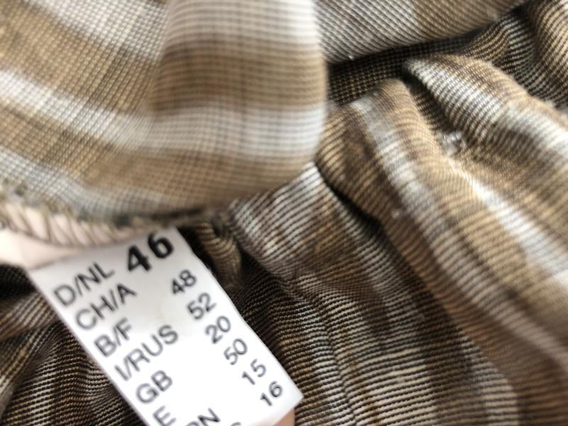 Блуза,рубаха,кофточка льняная,этно бохо стиль,большой размер, - Фото 3
