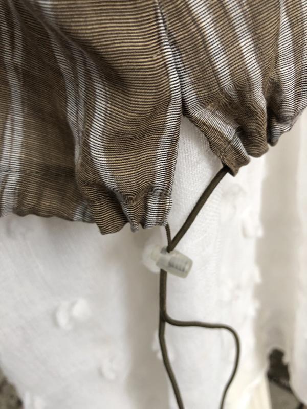 Блуза,рубаха,кофточка льняная,этно бохо стиль,большой размер, - Фото 5