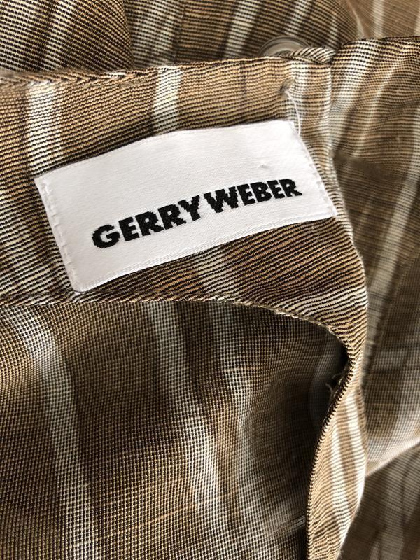 Блуза,рубаха,кофточка льняная,этно бохо стиль,большой размер, - Фото 9