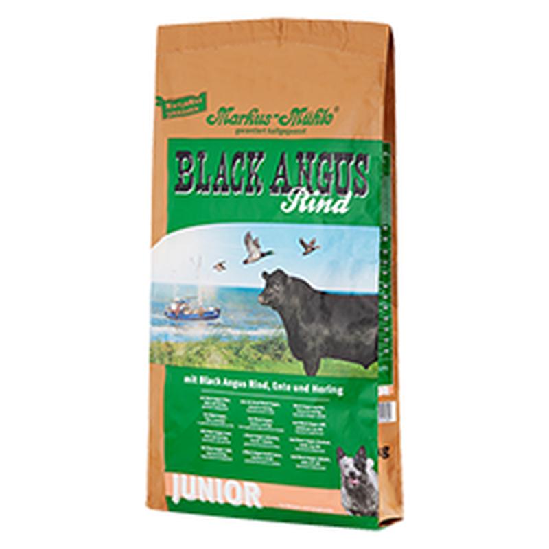 Корм для щенков Luposan Black Angus Junior с говядиной (15 кг)