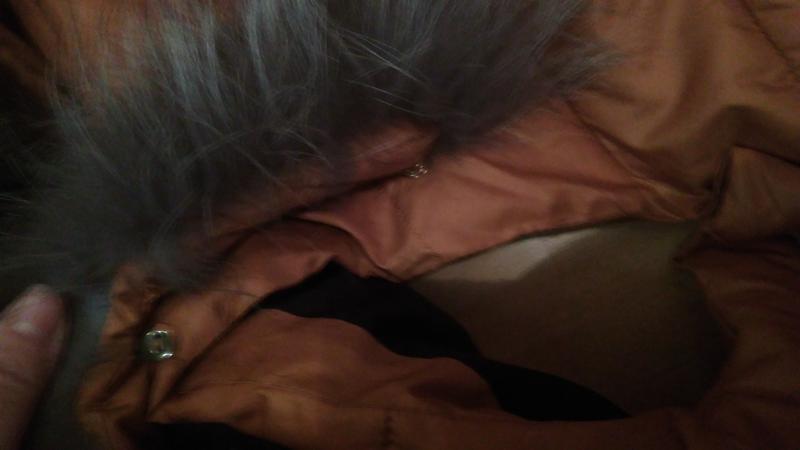 Бузрукавка жилетка с  мехо песца - Фото 5
