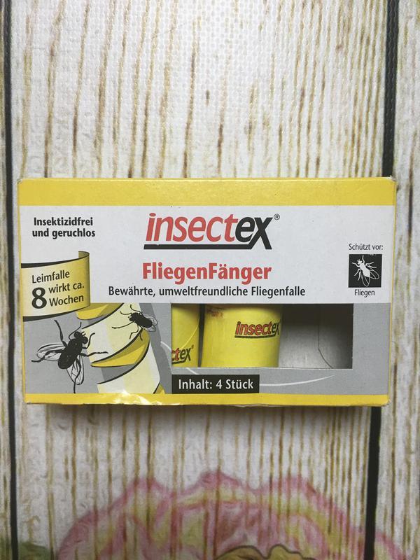 Клейкая лента для мух и моли insectex