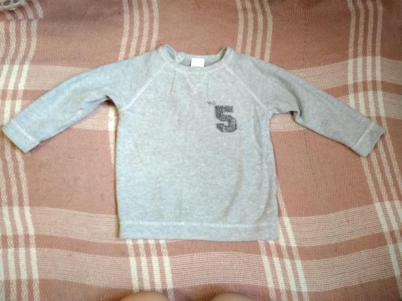 Кофта мальчику на 9-12 месяцев