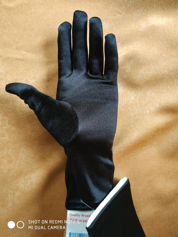 """Перчатки черные """"романия"""" - Фото 2"""