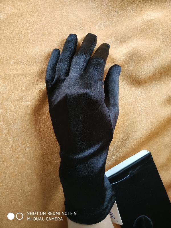 """Перчатки черные """"романия"""" - Фото 4"""