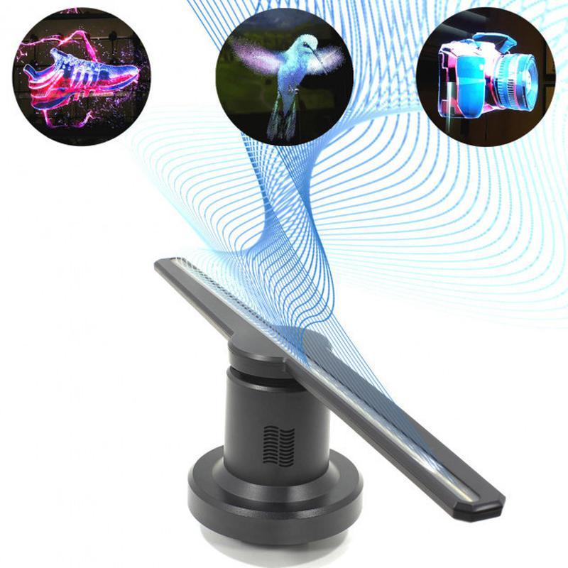 Голографический 3D проектор Fan Hologram US F3 Sd ISO WI-FI 7631