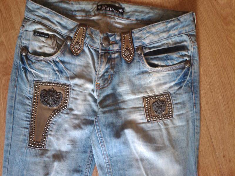 Супер-джинсы calliano, р.30/34 - Фото 3