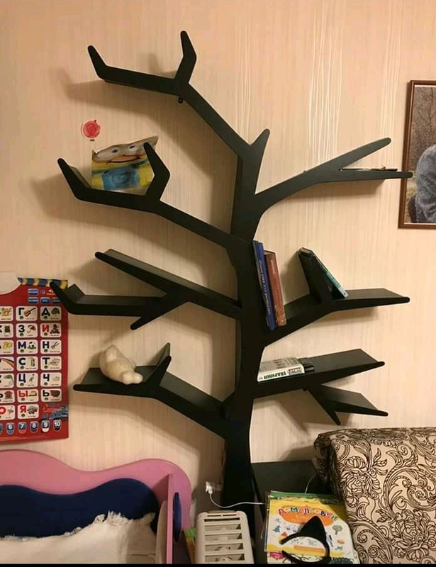 Полка для игрушек, полка-дерево, Tree Bookshelf - Фото 5
