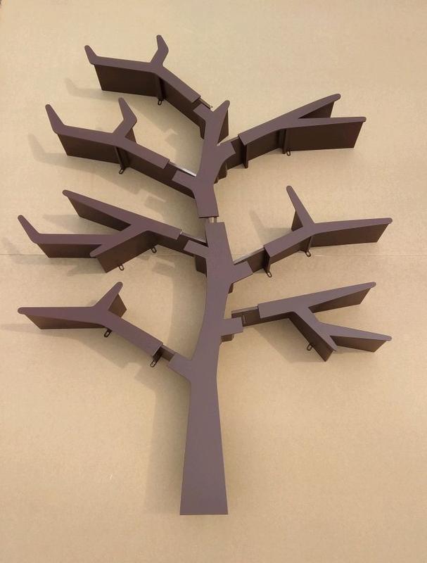 Полка для игрушек, полка-дерево, Tree Bookshelf - Фото 12