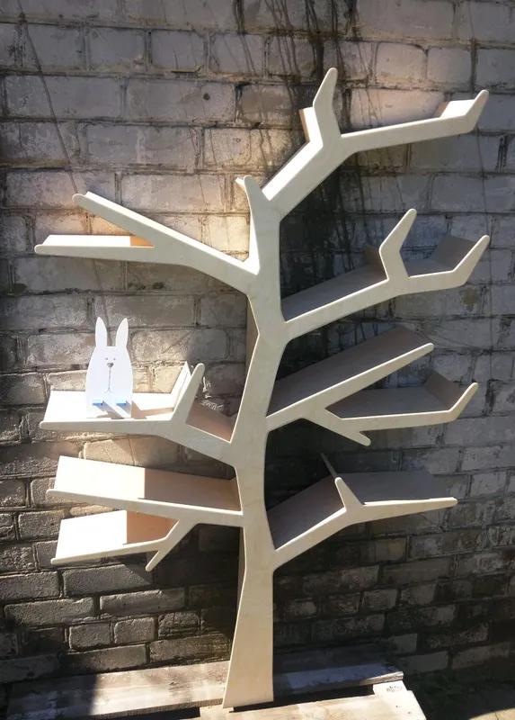 Полка для игрушек, полка-дерево, Tree Bookshelf - Фото 11
