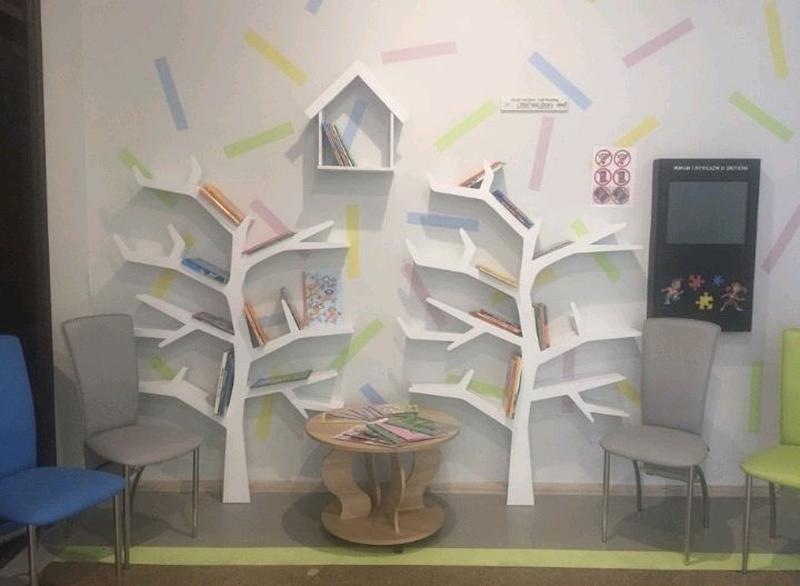 Tree Bookshelf, Полка-дерево, Мебель, Игрушки - Фото 2