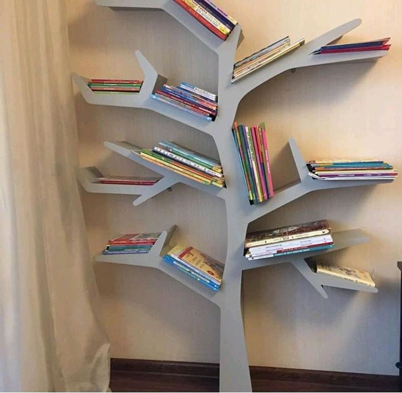 Tree Bookshelf, Полка-дерево, Мебель, Игрушки - Фото 3