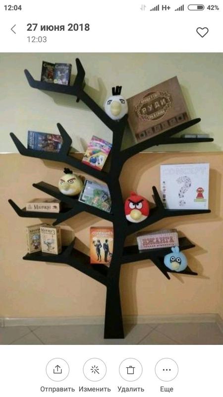 Tree Bookshelf, Полка-дерево, Мебель, Игрушки - Фото 6