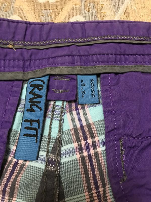 Серые шорты в клетку мужские - Фото 3