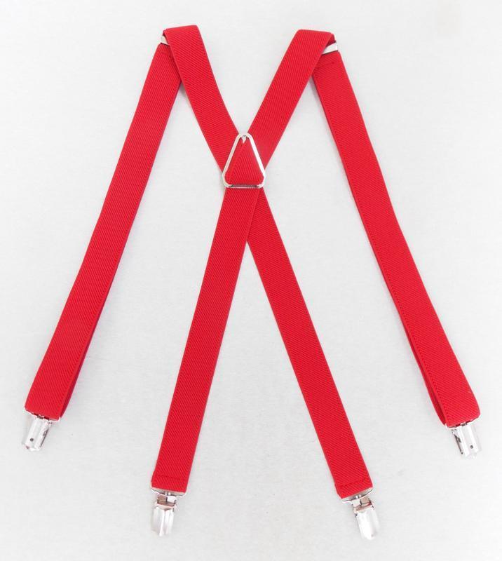 Женские подтяжки красные (арт. 310) - Фото 2