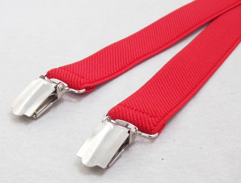 Женские подтяжки красные (арт. 310) - Фото 4