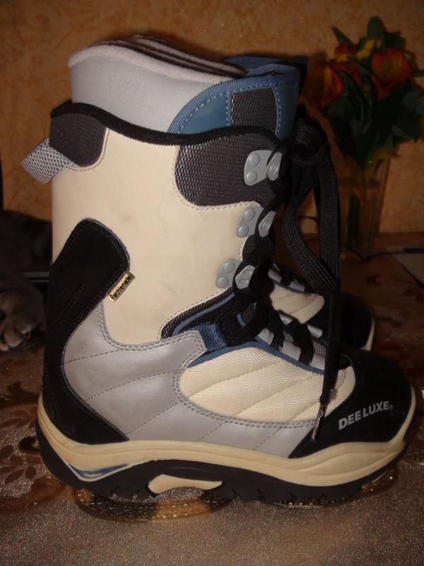 Продам ботинки для сноуборда Deeluxe 38 размер