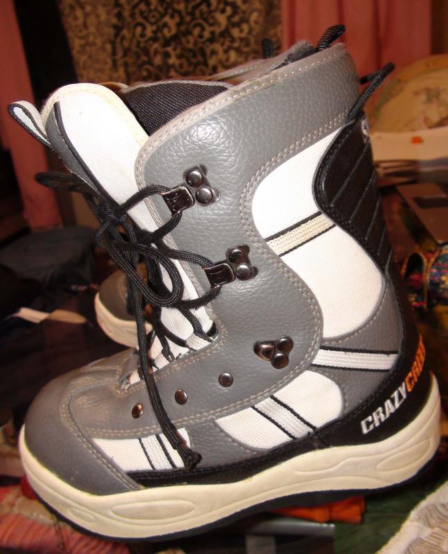 Продам  сноубордические  ботинки Crazy Greek 37 размер - Фото 4