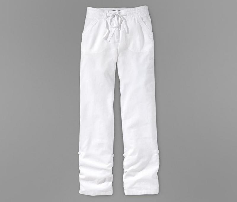 Льняные брюки трансформеры tcm tchibo германия евро 40 на наш 46 - Фото 4