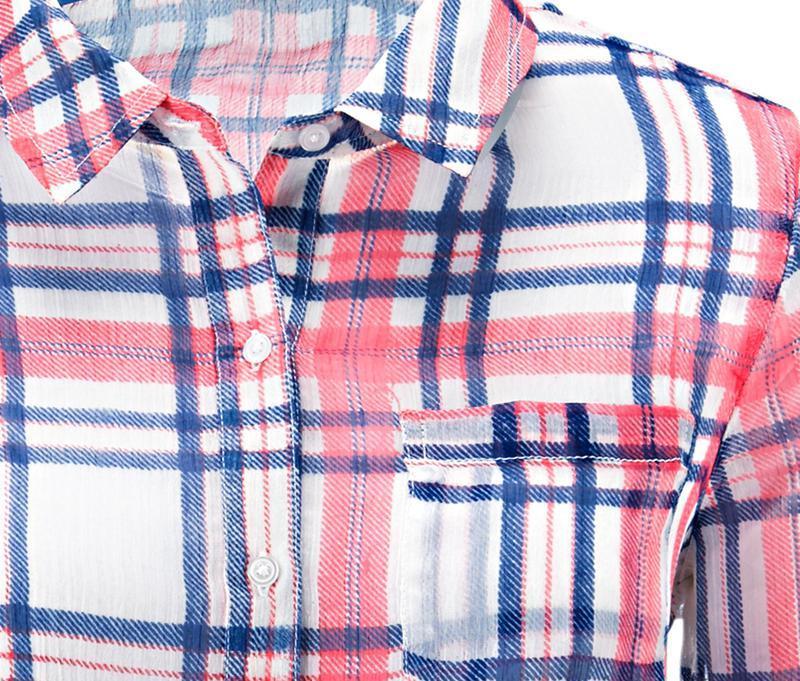 Легкая шифоновая блуза tcm tchibo германия - Фото 4