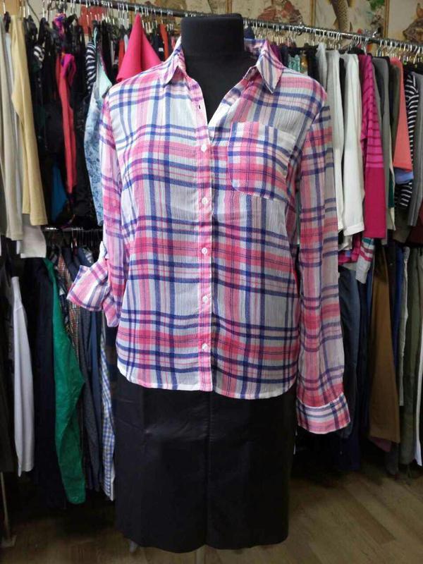 Легкая шифоновая блуза tcm tchibo германия - Фото 5