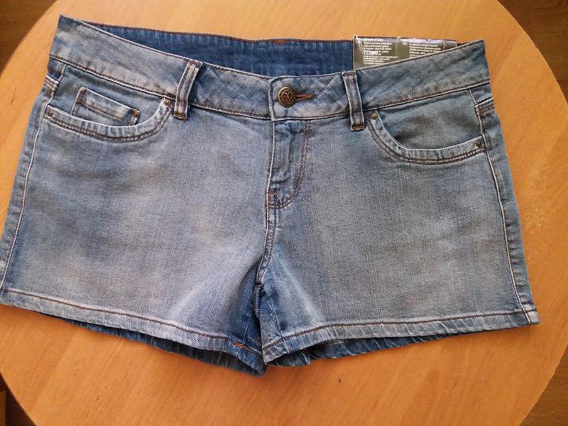 Джинсовые шорты esmara германия - Фото 2
