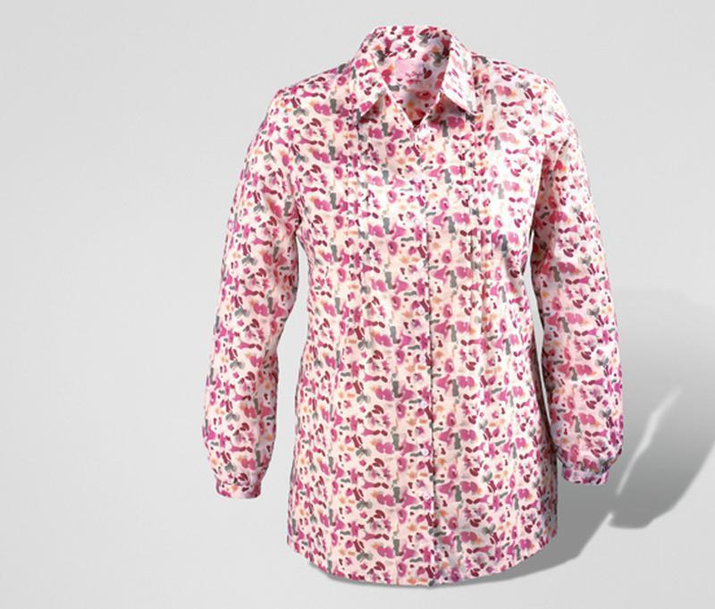 Блуза-туника ситцевая германия tcm tchibo на наш 48 и 50 размер - Фото 2