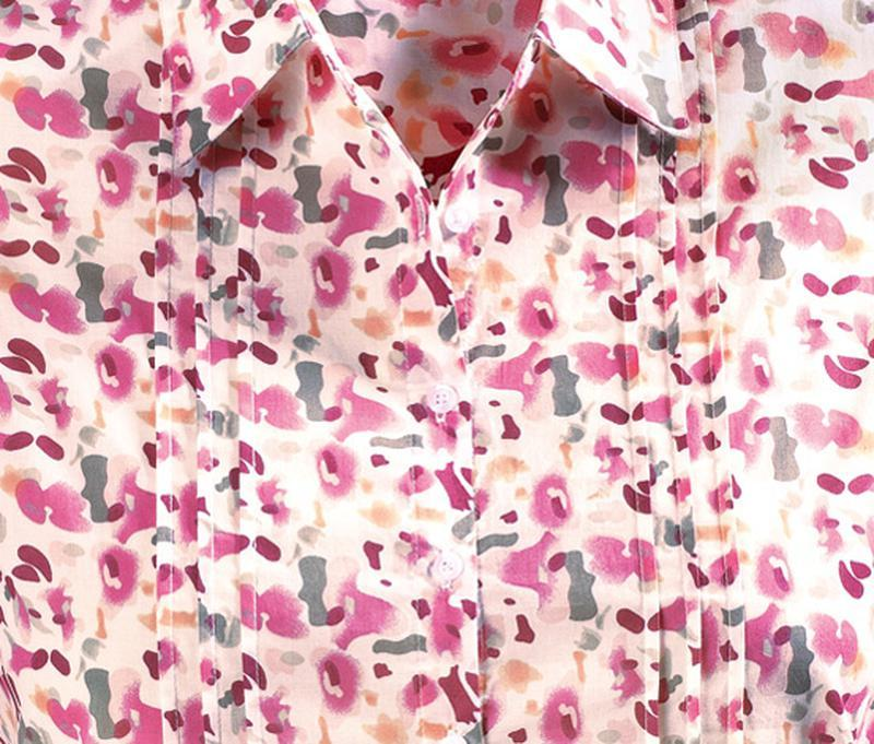Блуза-туника ситцевая германия tcm tchibo на наш 48 и 50 размер - Фото 4