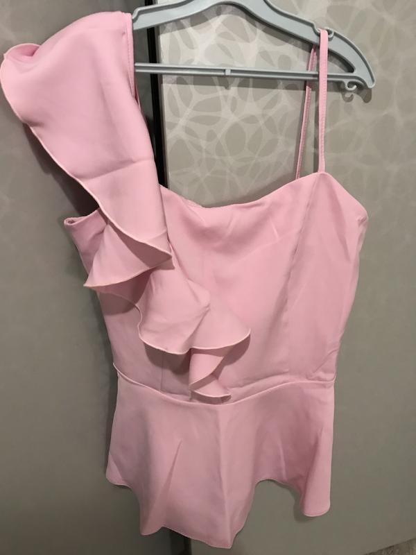Розовая блуза с рюшами❤️ - Фото 3