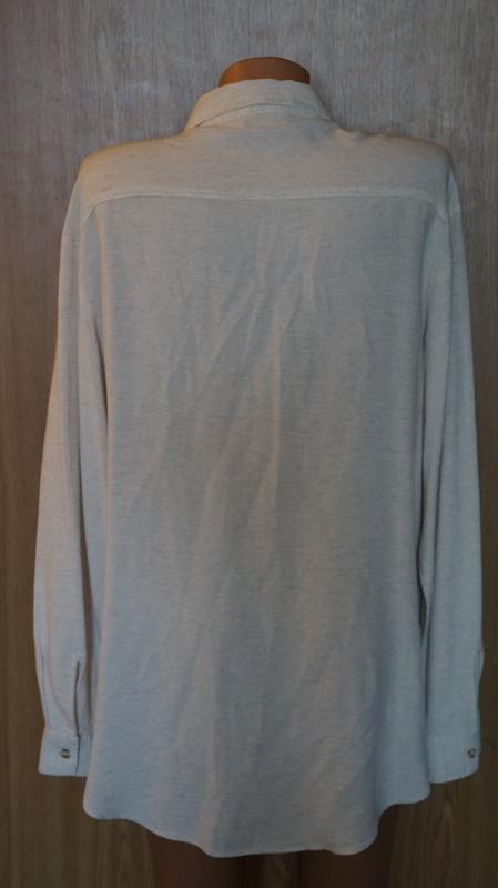 Красивая рубашка,вышита гладью - Фото 2