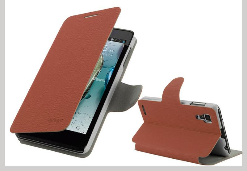 Стильный кейс чехол книжка Lenovo P780 IdeaPhone - Фото 9