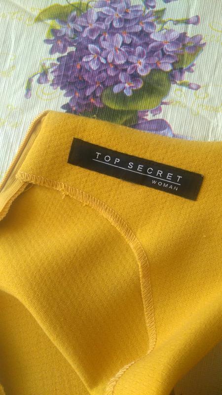 Демисезонное платье а-силуэта top secret - Фото 3