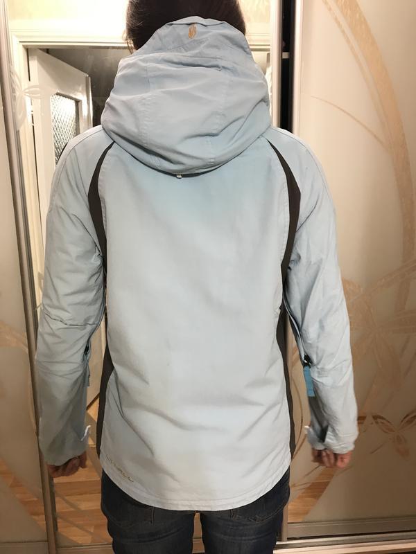 Лыжная оригинальная курточка oneill нежно-голубого цвета - Фото 5