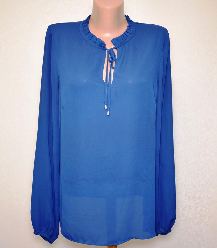 Блуза с оригинальным воротником стоечкой papaya, размер 3xl