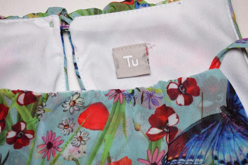Cказочное летнее платье на бретелях tu, размер хs - Фото 4